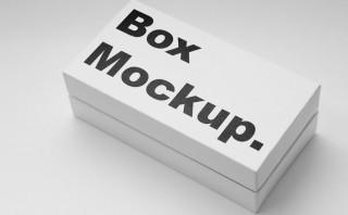 20+ High-Quality Free Box Mockups