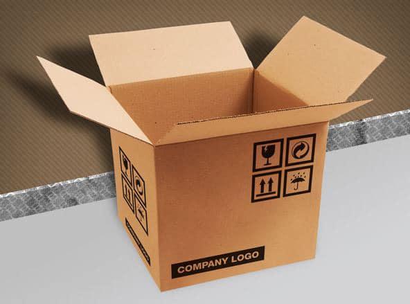free corrugated carton