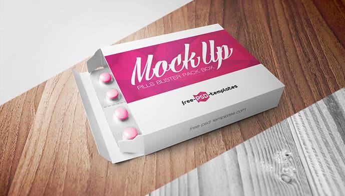free pills blister pack