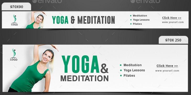 Yoga-Meditation-Banners