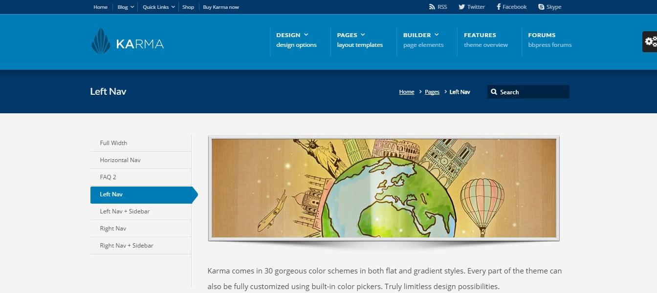 Karma - Responsive WordPress Theme Preview - ThemeForest
