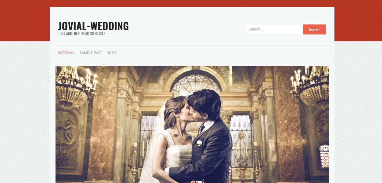 Jovial wedding _ Just another demo Sites site