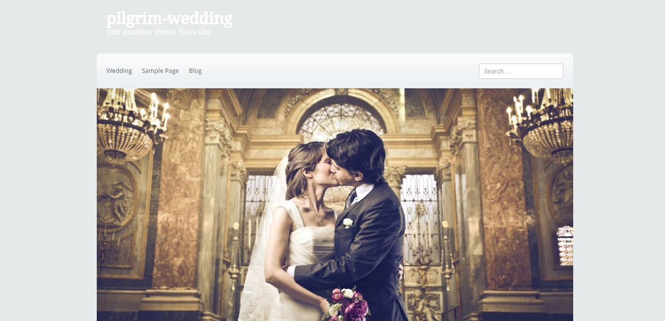 pilgrim wedding _ Just another demo Sites site