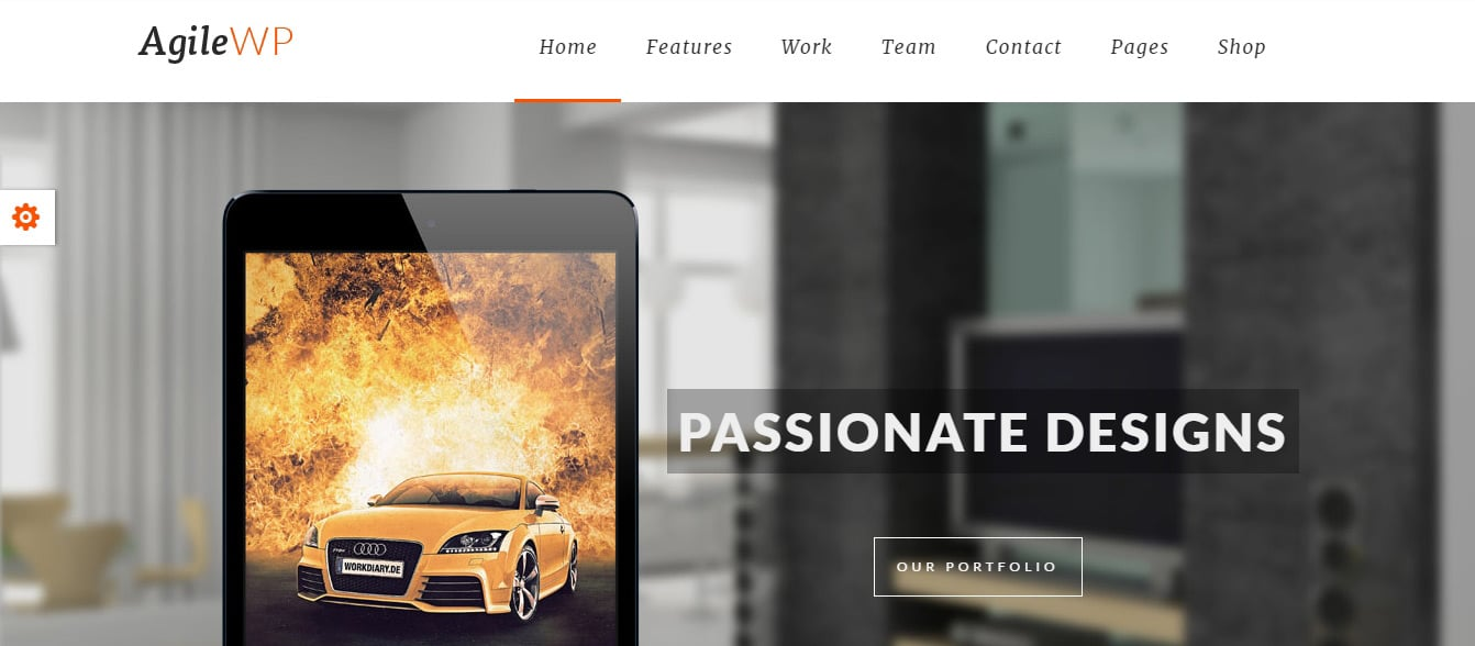 LiveMesh _ WordPress Theme Agile