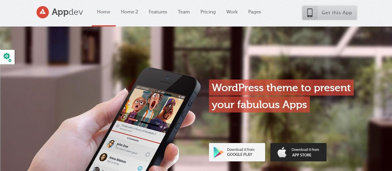 LiveMesh _ WordPress Theme Appdev