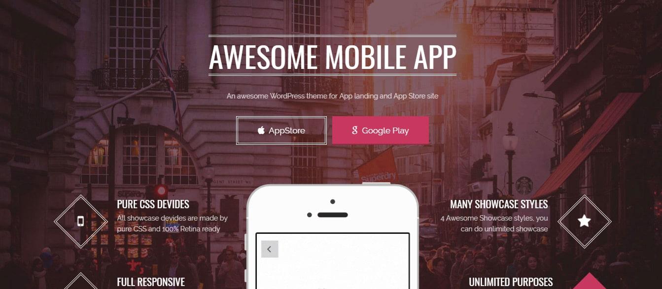 Applay - WordPress App Showcase & App Store Theme Preview - ThemeForest