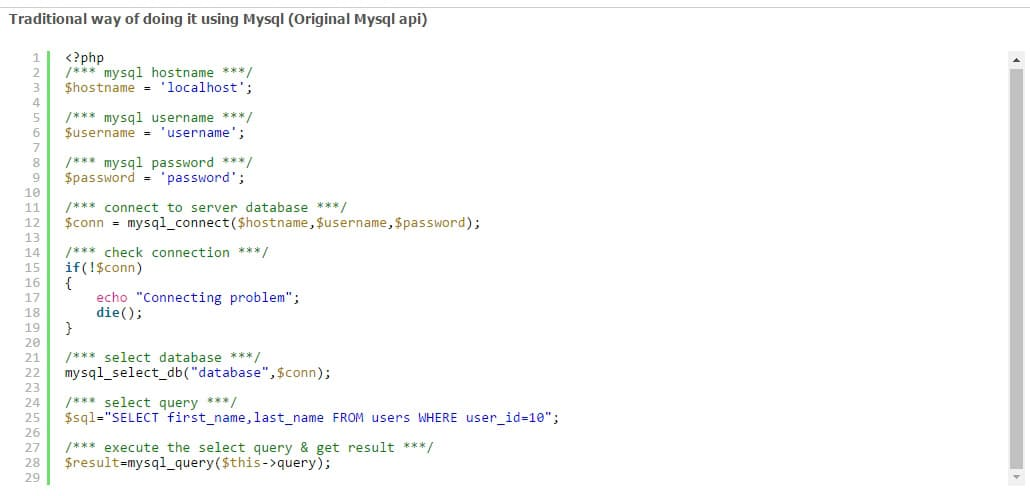 Simplified DB - PDO, Mysqli, Mysql Helper Class Preview - CodeCanyon