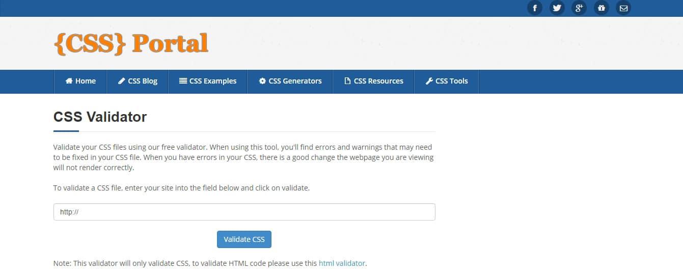CSS Validator - CSS Portal