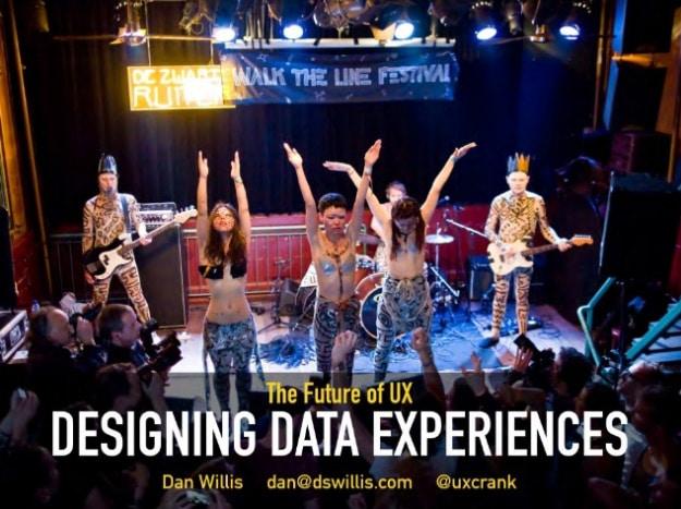 The Future of UX Designing Data Experiences