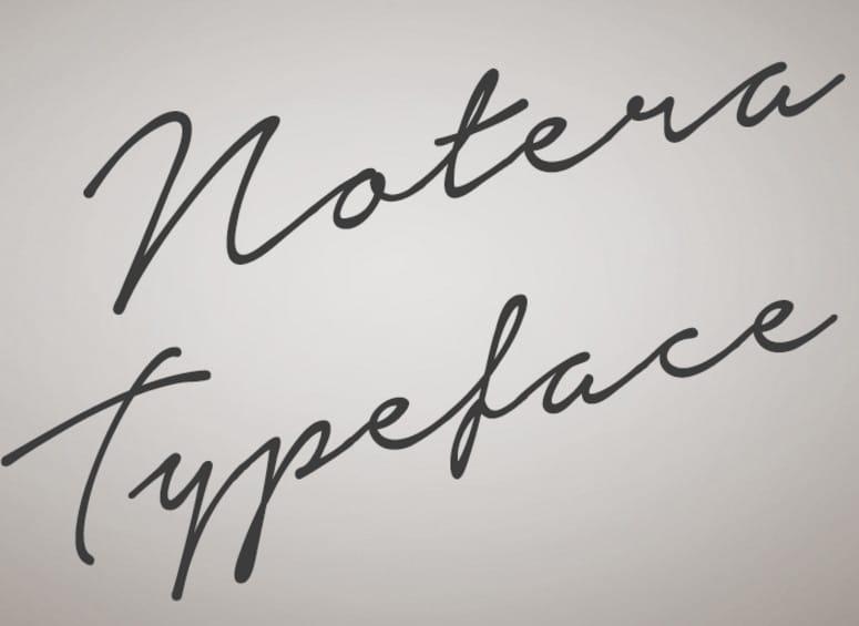 Notera-Font-_-dafont.com