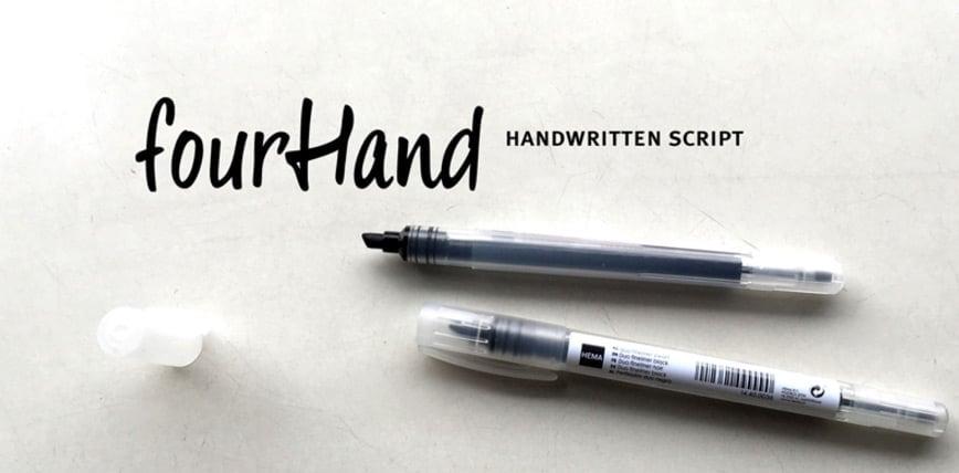Four-Hand-Font-_-dafont.com