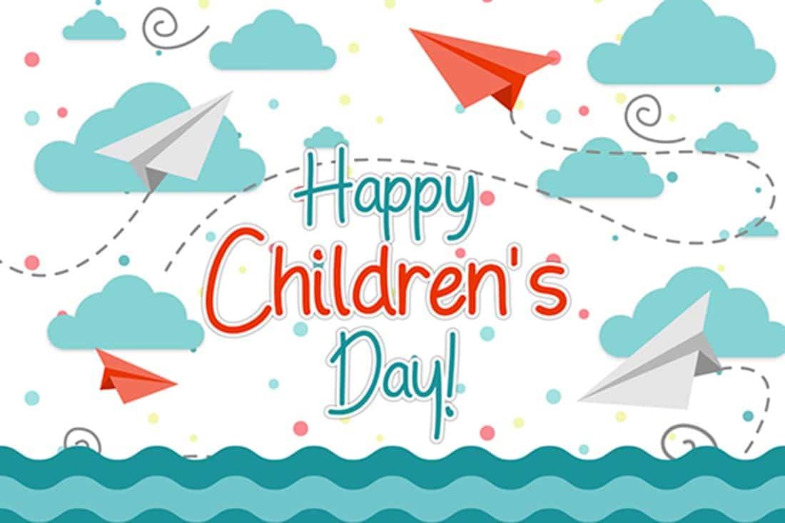 Hand Boys Happy Childrens Day