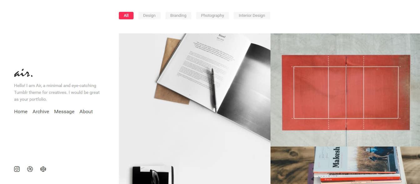 Air---Minimal-and-Eye-Catching-Portfolio-Tumblr-Theme-Preview---ThemeForest