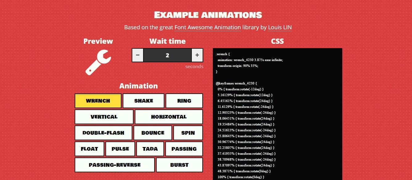WAIT!-Animate Web Animation Tools