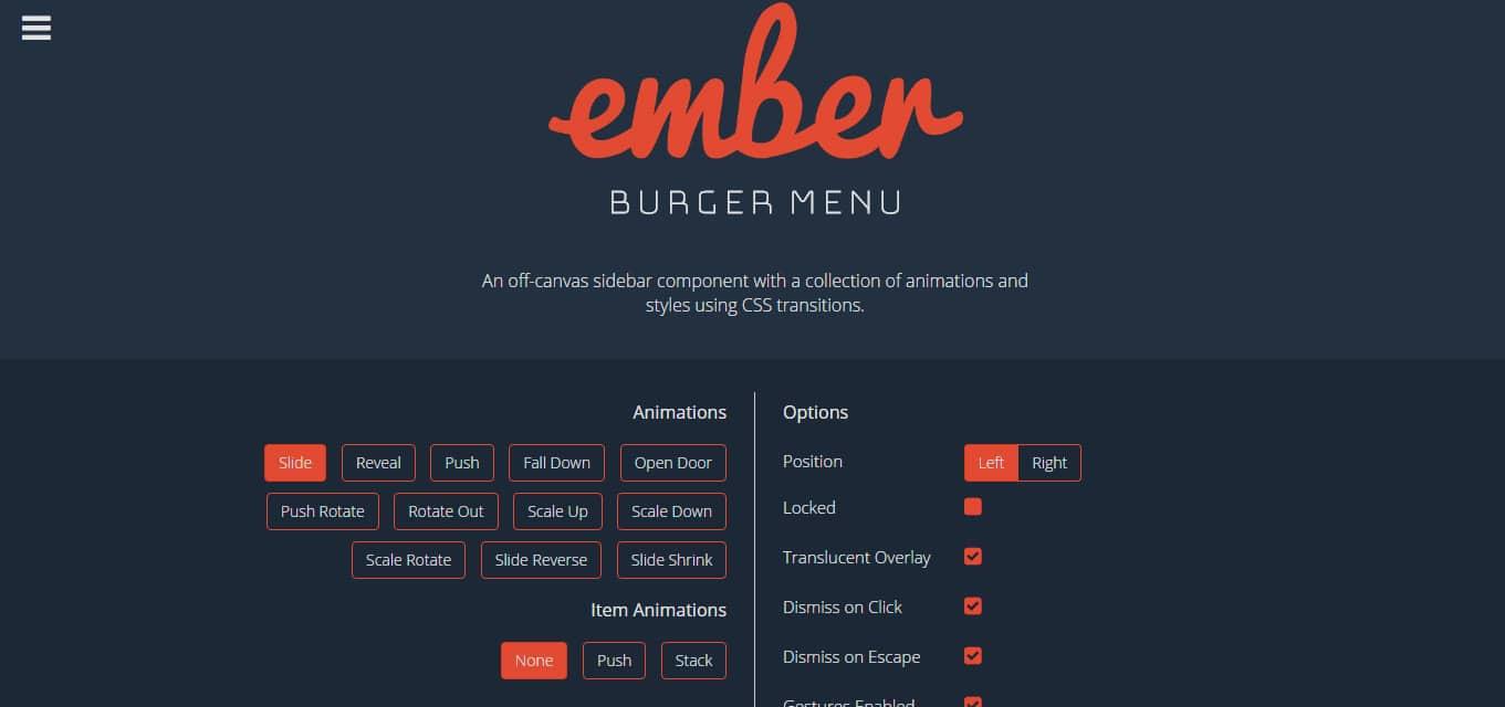 Ember-Burger-Menu