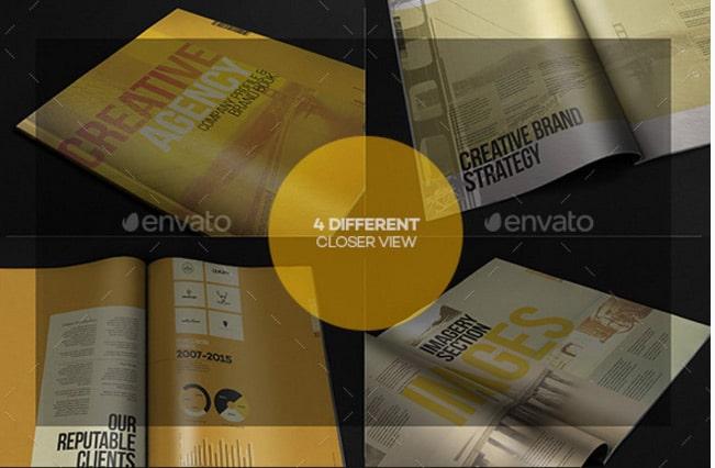 Company Profile Brand Book Template