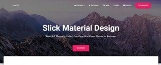 20 Free Material Design WordPress Themes