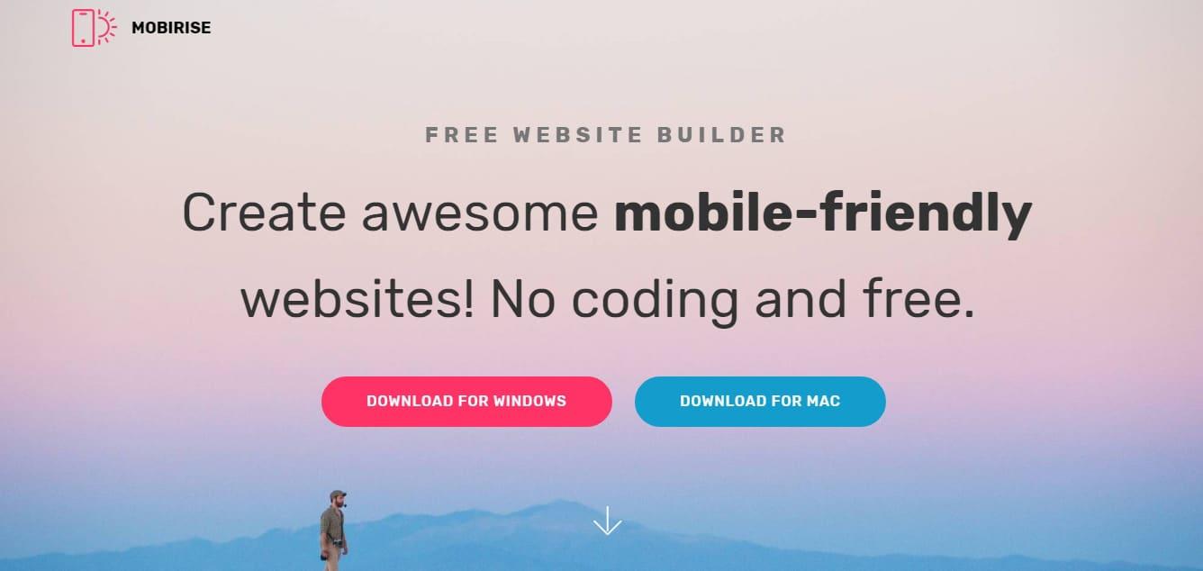 Mobile Website Builder Bootstrap Editors