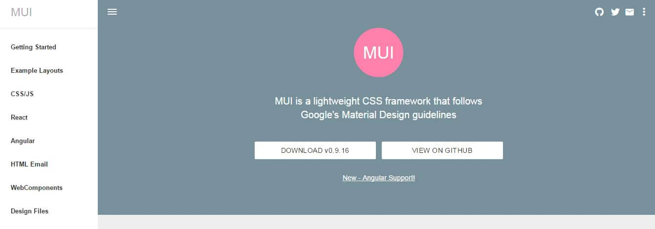 MUI Material Design