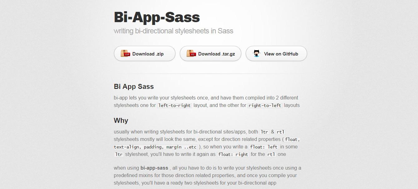 Bi App Sass Mixins Libraries