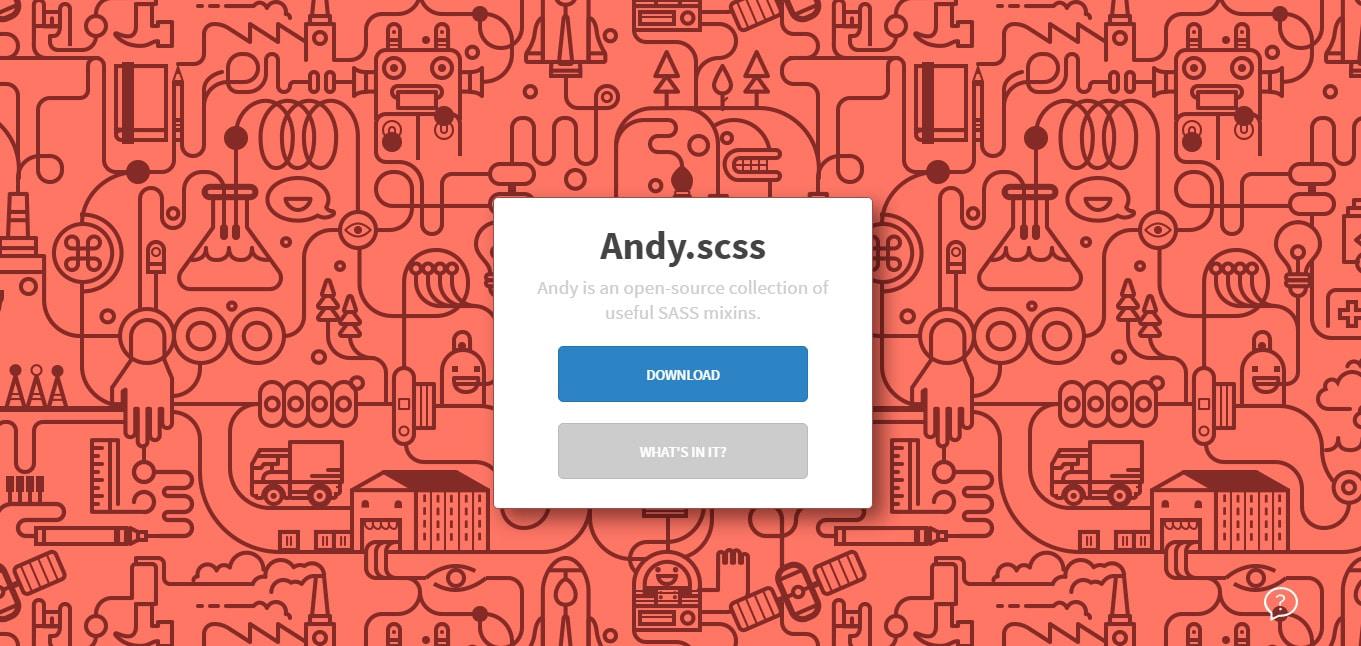 Andy.scss SASS Mixins