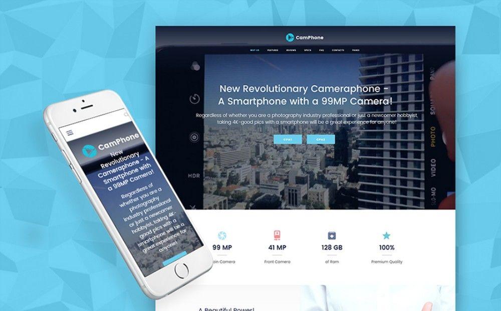 24-Responsive Smartphone One Page WordPress Theme