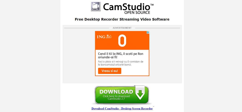 CamStudio - Free Screen Recording Software
