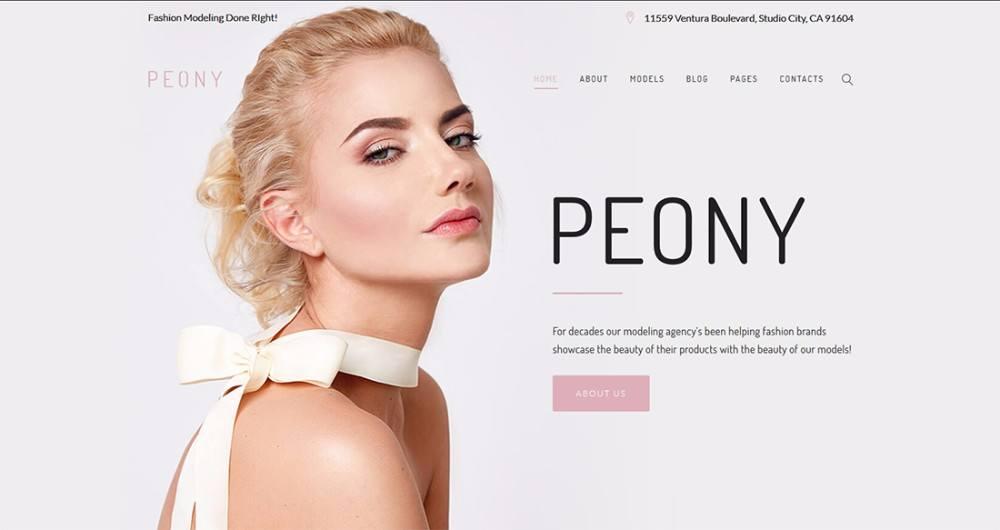 14-WordPress-Theme-for-a-Fashion-Modelling-Agency