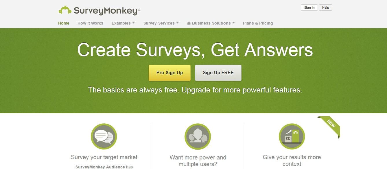 Survey Monkey Free Online Survey Software