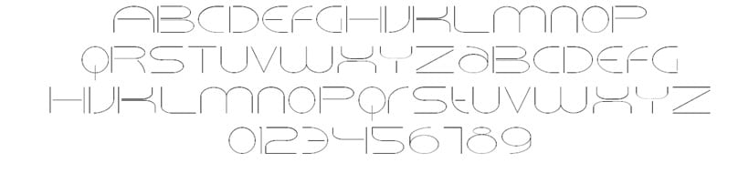Velcro Wide Font
