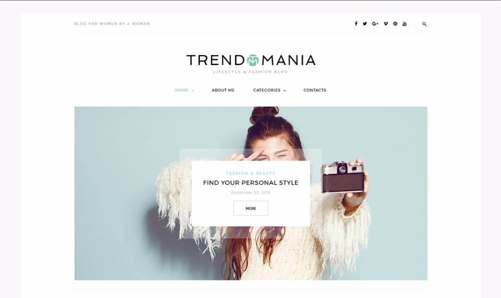 30-Life of Style & Fashion WordPress Theme