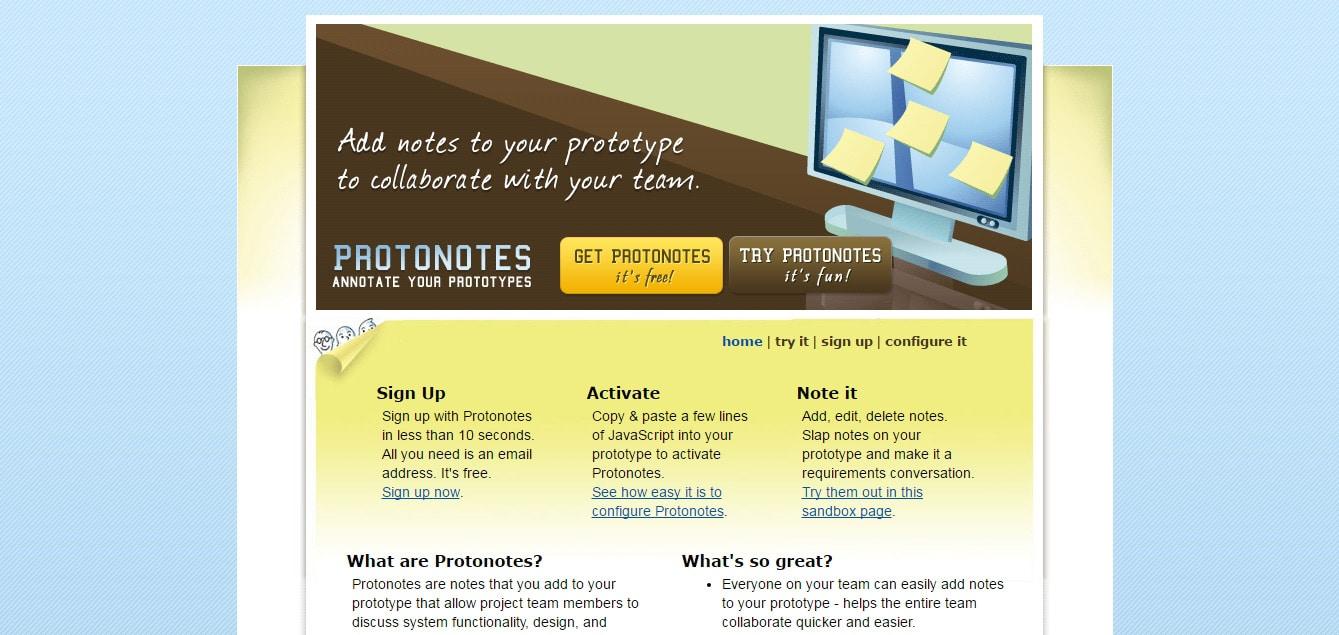 Protonotes - HTML Prototyping Collaboration Tool