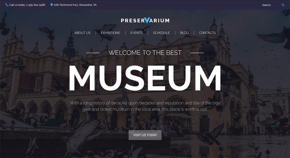 8-National-Museum-Responsive-WordPress-Theme