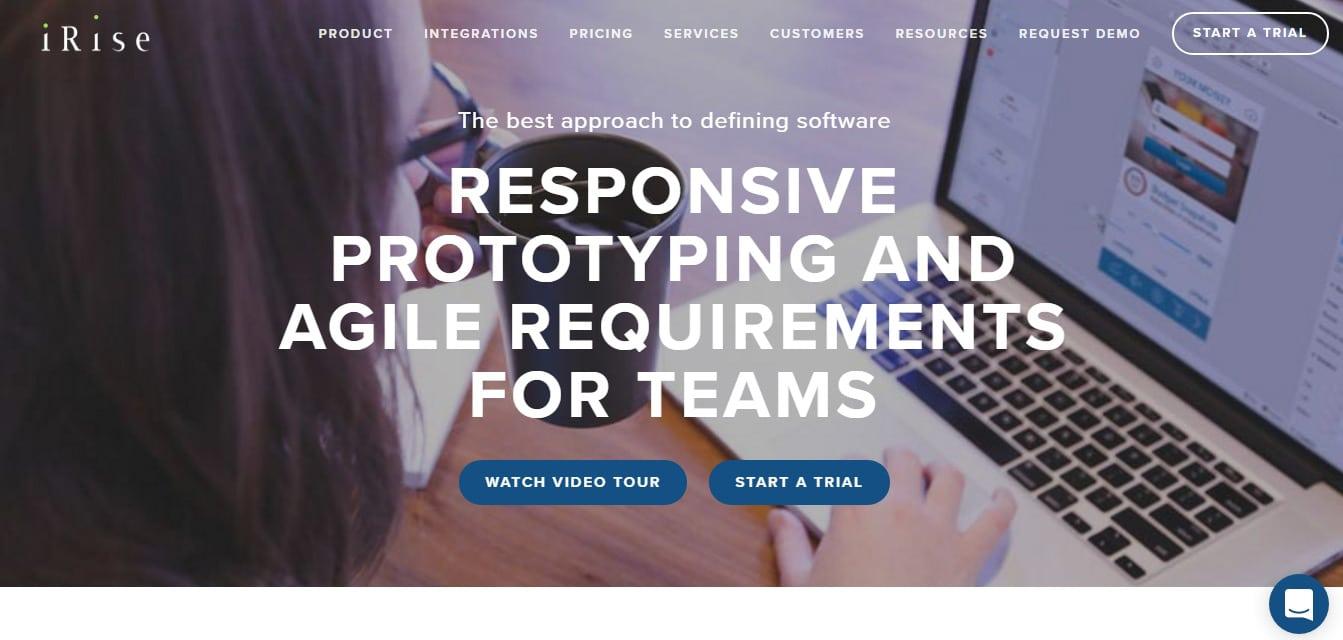 iRise - Best Prototyping & Wireframe Tool
