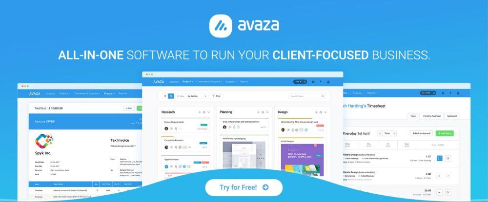 Avaza - time tracking