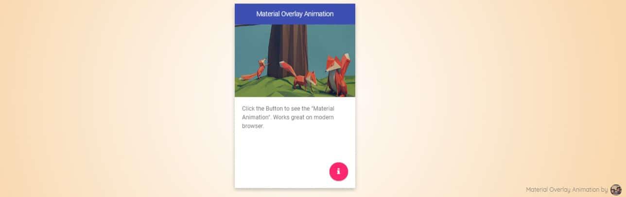 Card With Overlay Animation