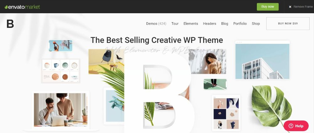 Bridge Portfolio WordPress Theme