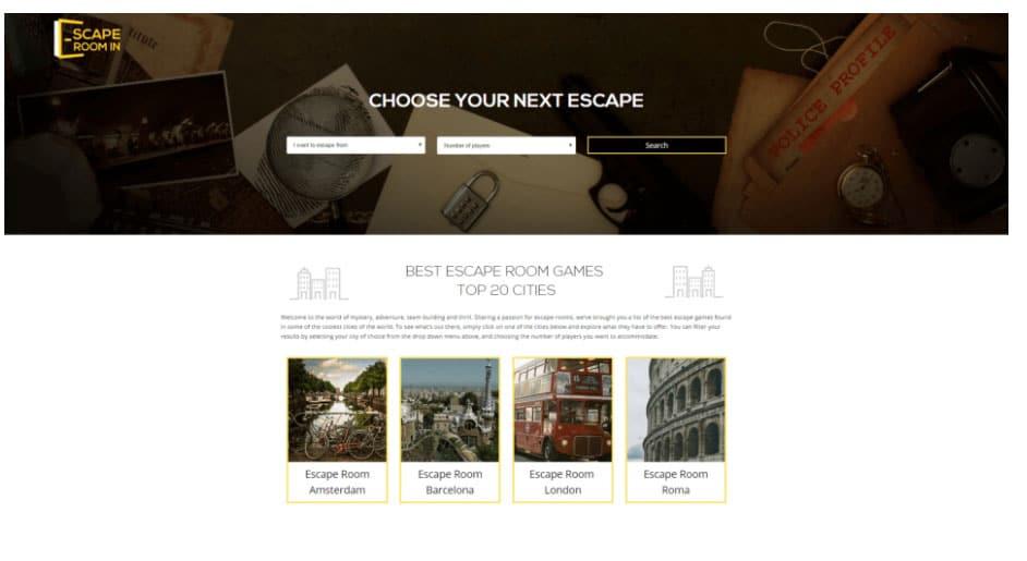 simbla escape room dynamic pages