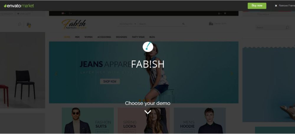 Fab!sh - Responsive Opencart Theme