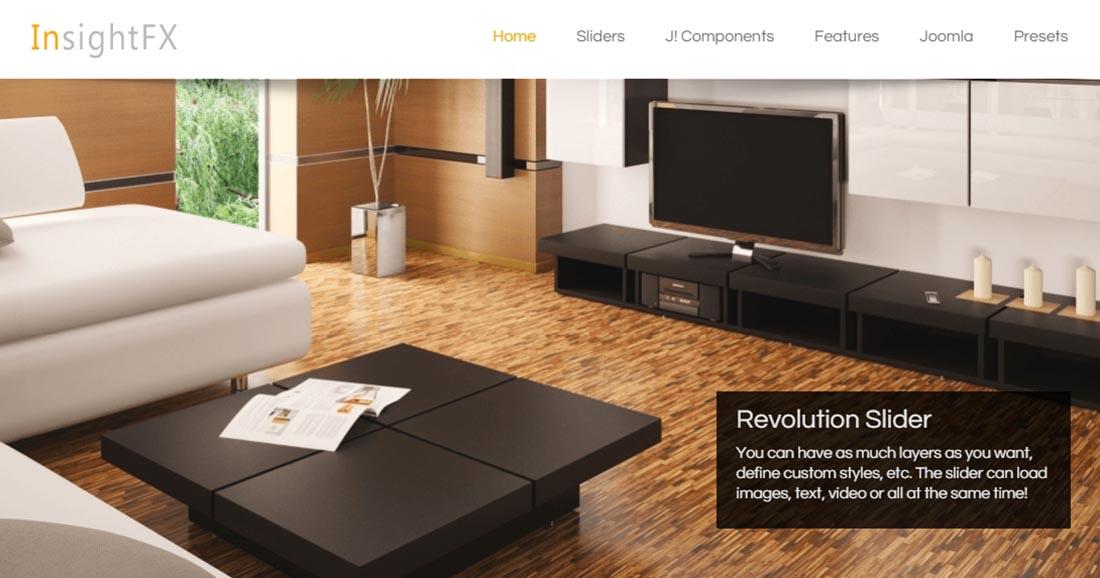 JoomFX Templates InsightFX Website Design Templates