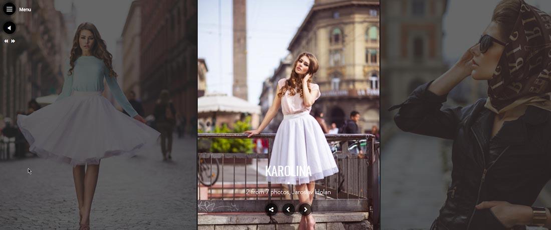 Santino WordPress Photography Themes