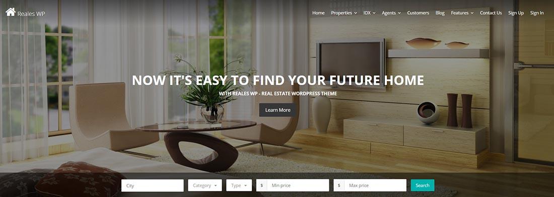 Reales WP - Real Estate WordPress Theme