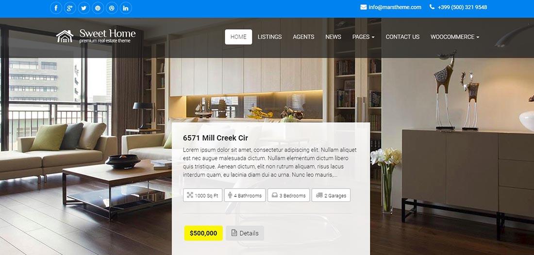 MarsTheme Real Estate WordPress Themes