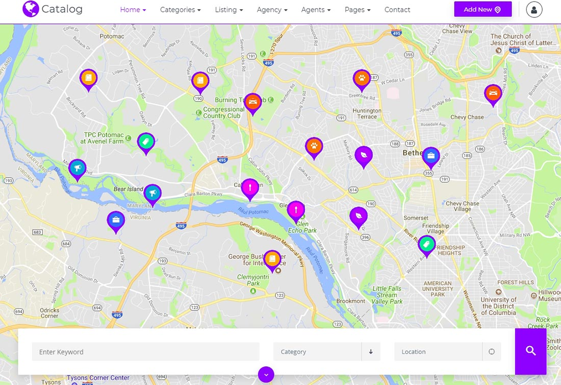 Demo Real Estate Website Template