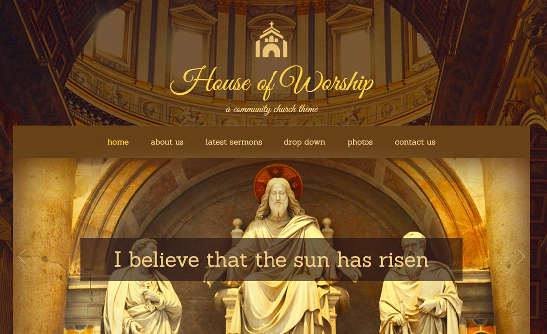 House Of Worship - Church WordPress Theme