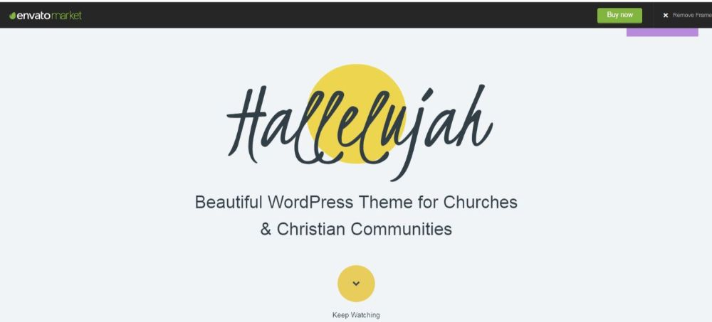 Hallelujah Church Theme