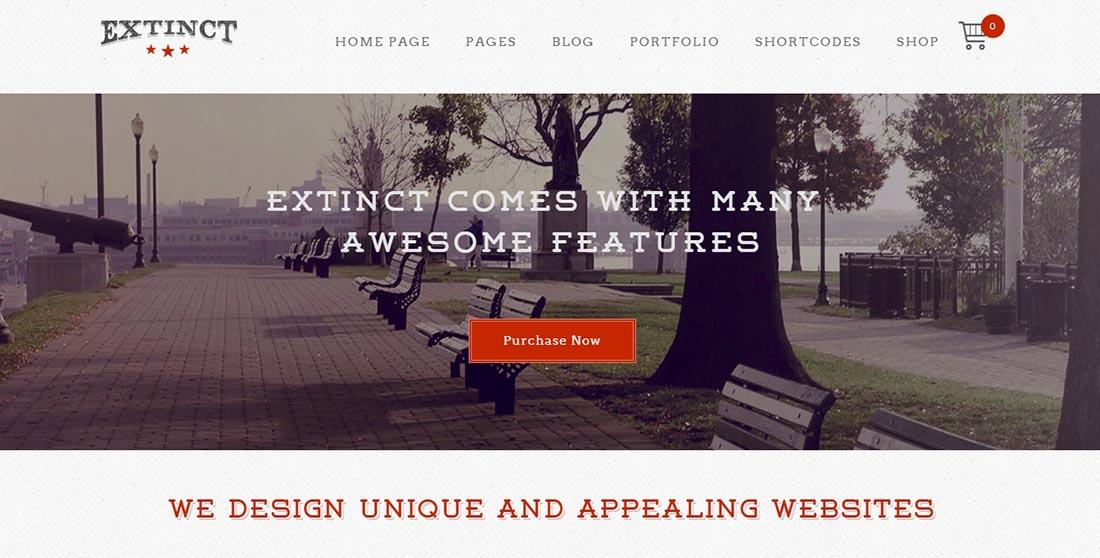 LiveMesh Vintage WordPress Theme