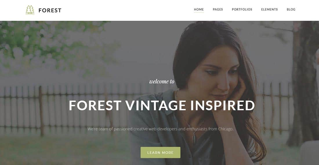 Wopethemes Vintage WordPress Theme