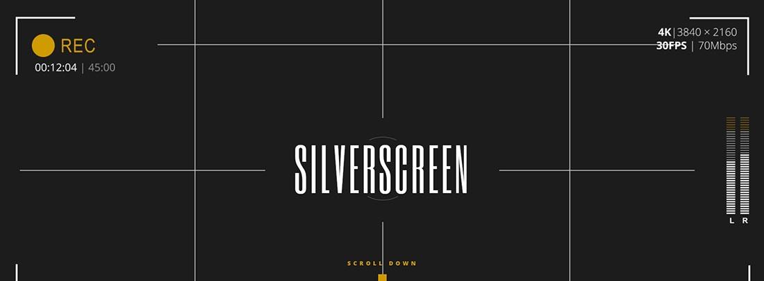 Silverscreen Vintage WordPress Theme