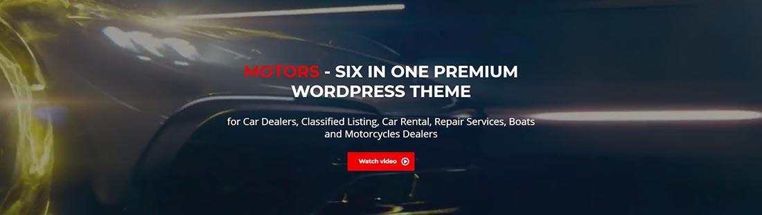 Motors WordPress Theme StylemixThemes